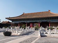 Kulturpalast der Werktätigen-ehemaliger Ahnentempel Taimiao, Peking, China, Asien<br /> Palace of culture of the working People, former ancestral temple Taimiao, Beijing, China, Asia