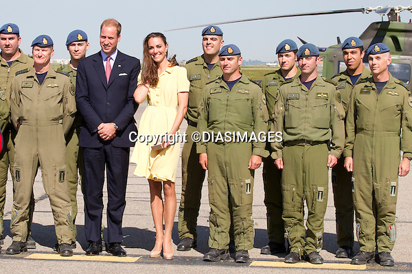"""PRINCE WILLIAM & KATE CANADA.arrival at Calgary Aiport, Calgary_07/07/2011.Mandatory Credit Photo: ©DIASIMAGES. .**ALL FEES PAYABLE TO: """"NEWSPIX INTERNATIONAL""""**..No UK Usage until 03/08/2011.IMMEDIATE CONFIRMATION OF USAGE REQUIRED:.DiasImages, 31a Chinnery Hill, Bishop's Stortford, ENGLAND CM23 3PS.Tel:+441279 324672  ; Fax: +441279656877.Mobile:  07775681153.e-mail: info@newspixinternational.co.uk"""