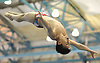 Nicholas Shen of Great Neck South twists through the air during the Nassau County boys diving championship at Nassau Aquatic Center in East Meadow on Tuesday, Feb. 7, 2018.