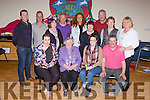 The Killcummin Rambling house held their last Rambling house of the season for Chernobyl Children in Kilcummin Klub bar on Friday night front l-r: karina Nagle, betty crosbie, gillian fitzgerald, Eoghan moriarty. Back row: Conor doolin, Tom O'Connor, Kathleen Hannigan, Gerard Fitzgerald, Bridie Hanafin, Marie O'Leary, Pat O'sullivan, Kathleen O'Sullivan kathleen Fitzgerald