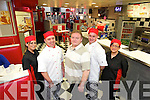 Staff at New Yorkers Restaurant, Bridge Street, Tralee, from left, Cindy O'Shea, Gerald O'Shea, Patrick O'Shea, Mark O'Shea and Joan O'Shea.