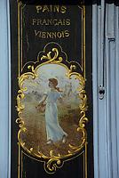 """Europe/France/Ile-de-France/Paris: """"BELLE EPOQUE"""" - Ancienne boulangerie rue du pont Louis-Philippe dans le Marais<br /> PHOTO D'ARCHIVES // ARCHIVAL IMAGES<br /> FRANCE 1990"""