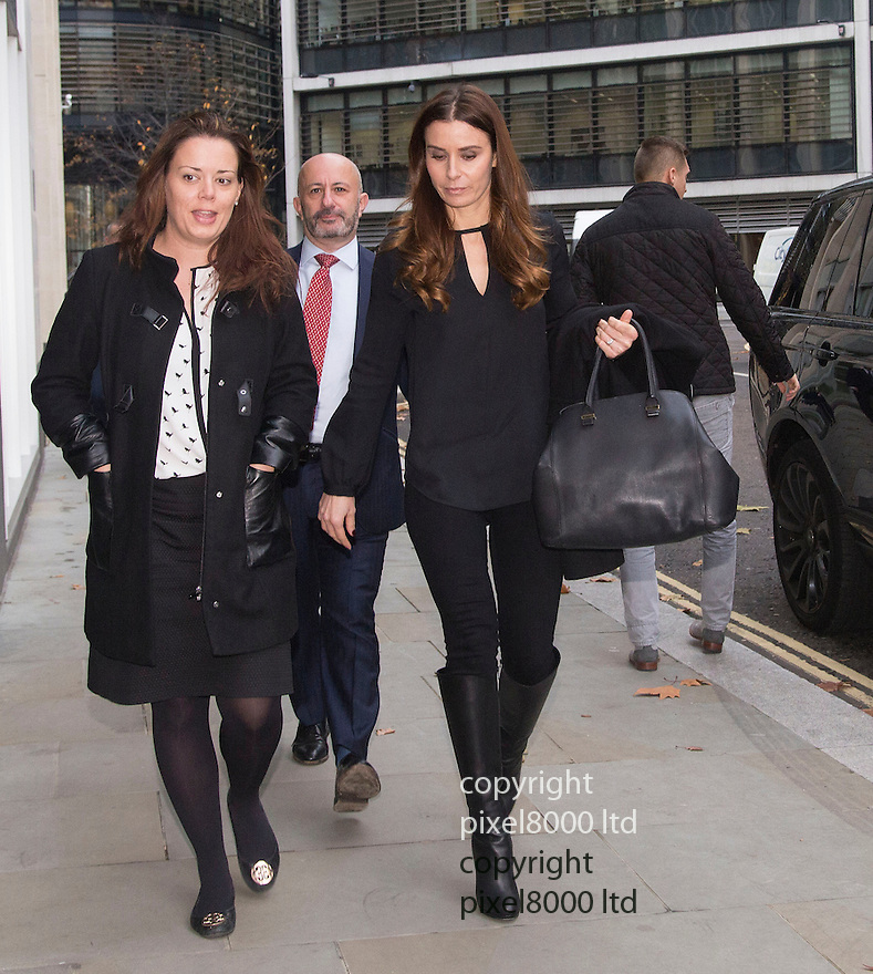 Pic shows: Tana Ramsay arriving at High Court in London today 24.11.14<br /> <br /> She is giving evidence in a case versus Gary Love - film director over a lease and forged signature.<br /> <br /> <br /> Pic by Gavin Rodgers/Pixel 8000 Ltd
