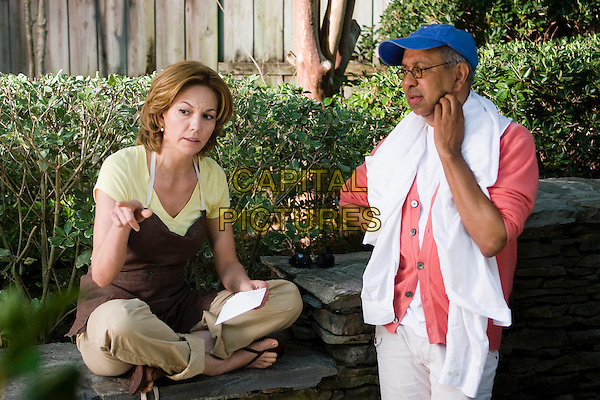 DIANE LANE & GEORGE C. WOLFE (DIRECTOR) .on the set of Nights in Rodanthe.*Filmstill - Editorial Use Only*.CAP/FB.Supplied by Capital Pictures.
