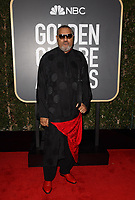 Laurence Fishburne attends the 75th Annual Golden Globes Awards at the Beverly Hilton in Beverly Hills, CA on Sunday, January 7, 2018.<br /> *Editorial Use Only*<br /> CAP/PLF/HFPA<br /> &copy;HFPA/PLF/Capital Pictures