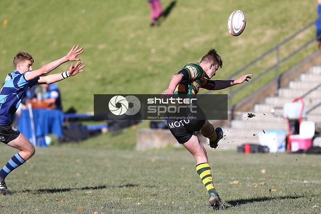 NELSON, NEW ZEALAND - JUNE 10: UC Cup Nelson College  v Rangiora  on June 10 2017 in Nelson, New Zealand. (Photo by: Evan Barnes Shuttersport Limited)