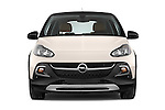 Car photography straight front view of a 2015 Opel Adam Rocks 3 Door Hatchback