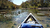 NWA Democrat-Gazette/FLIP PUTTHOFF <br /> Bryant Creek flows on a scenic, meandering course Oct. 17, 2015 through the Ozarks of south-central Missouri. The stream sees little river traffic. Fishing can be good for smallmouth bass and goggle-eye.
