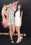 Kendall Jenner and Kylie Jenner attends the Lionsgate World Premiere of The hunger Games held at The Nokia Theater Live in Los Angeles, California on March 12,2012                                                                               © 2012 DVS / Hollywood Press Agency
