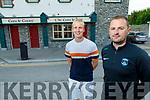 Fergal and Darren O'Sullivan outside the Castle Bar
