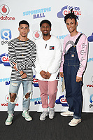 5 After Midnight<br /> at the Capital Summertime Ball 2017, Wembley Stadium, London. <br /> <br /> <br /> &copy;Ash Knotek  D3278  10/06/2017