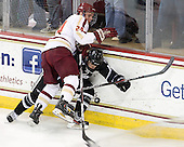 Bill Arnold (BC - 24), Ross Mauermann (PC - 14) - The Boston College Eagles defeated the visiting Providence College Friars 4-1 (EN) on Tuesday, December 6, 2011, at Kelley Rink in Conte Forum in Chestnut Hill, Massachusetts.