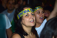 SÃO PAULO,SP - 17.03.2016 - PROTESTO-SP - Manifestantes protestam pedindo o impeachment da presidente Dilma Roussef e contra a nomeação do ex-presidente Luis Inácio Lula da Silva, para ministro da Casa Civíl, na Avenida Paulista, na noite desa quinta-feira (17) em São Paulo. (Foto: Eduardo Carmim / Brazil Photo Press)