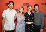 """Kim Fischer, Samantha Mathis, Susannah Flood and Brad Heberlee during the Second Stage Theater's """"Make Believe"""" cast photo call at the Second Stage Theatre Theatre on July 23, 2019 in New York City."""