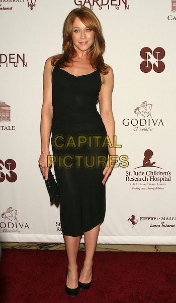 "JAMIE LUNER.""Chocolat au Vin"" - A Deliciously Decadent Evening of Dancing, Desserts & Dreams to Benefit the St. Jude Children's Research Hospital at Capitale, New York, NY, USA..May 28th, 2009.full length dress clutch bag shoes black .CAP/LNC/TOM.©TOM/LNC/Capital Pictures."