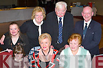 Get-together: At the Ballinorig Social in the Manor West Hotel, Tralee, on Friday evening were, front l-r: Michelle Lynch, Nuala Looney and Tina Looney. Back l-r: Mary Kerins, Phyllis McLoughlin, Tim Looney and Andy Kerins..