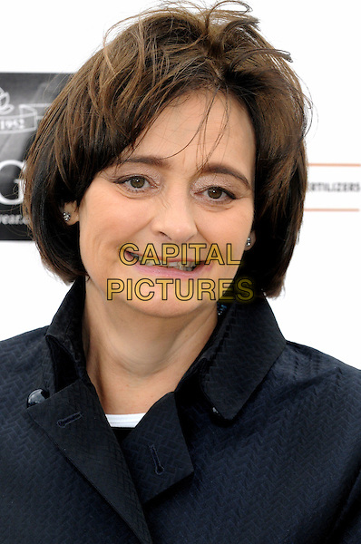 Cherie Blair.International Widows' Day Celebrity Goat Walk at London Bridge, London, England, UK, June 23rd 2012..portrait headshot smiling black Booth .CAP/BK/PP.©Bob Kent/PP/Capital Pictures.
