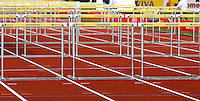 Photo: Richard Lane/Richard Lane Photography..Aviva British Grand Prix. 31/08/2009. Aviva hurdles.