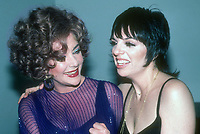 Elizabeth Taylor and Liza Minnelli 1978<br />