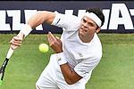 12.06.2019, Tennisclub Weissenhof e. V., Stuttgart, GER, Mercedes Cup 2019, ATP 250, Jo-Wilfried TSONGA (FRA) vs Milos RAONIC (CAN) [6] <br /> <br /> im Bild  Milos RAONIC (CAN) [6] <br /> <br /> Foto © nordphoto/Mauelshagen