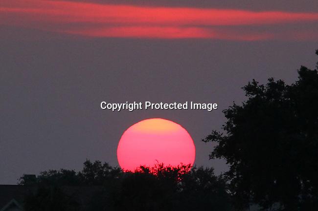 Photos taken at sunset on Tampa Bay June 12, 2010