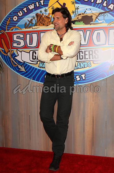 24 May 2017 - Los Angeles, California - Troyzan Robertson. Survivor: Game Changers Mamanuca Islands Finale held at CBS Studio Center. Photo Credit: AdMedia