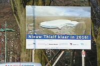 SCHAATSEN: HEERENVEEN: IJsstadion Thialf, 16-02-15, oplevering voor de verbouw, ©foto Martin de Jong