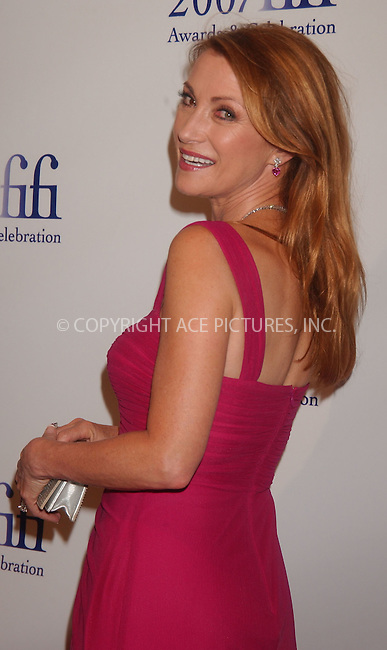 WWW.ACEPIXS.COM . . . . . ....May 31 2007, New York City....Actress Jane Seymour arriving at the Fragrance Foundation's 35th Annual FiFi Awards at the World Financial Center. ....Please byline: KRISTIN CALLAHAN - ACEPIXS.COM.. . . . . . ..Ace Pictures, Inc:  ..(646) 769 0430..e-mail: info@acepixs.com..web: http://www.acepixs.com
