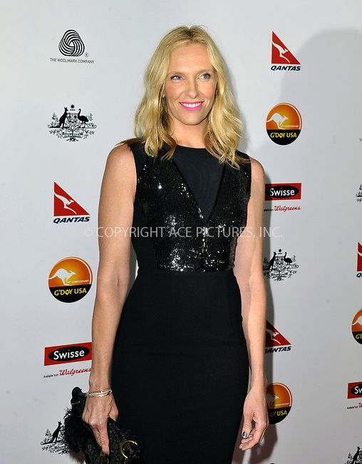 WWW.ACEPIXS.COM......January 12, 2013, Los Angeles, CA.......Toni Collette arrivng at the 2013 G'Day USA Black Tie Gala at JW Marriott Los Angeles  on January 12, 2013 in Los Angeles, California. ..............By Line: Peter West/ACE Pictures....ACE Pictures, Inc..Tel: 646 769 0430..Email: info@acepixs.com