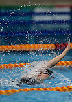 Annabelle Paterson, 200m Back during the New Zealand Open Swimming Championships, Owen G Glenn National Aquatic Centre, Auckland, New Zealand. Friday 1 April 2016 Photo: Simon Watts / www.bwmedia.co.nz