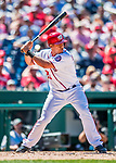 30 July 2017: Washington Nationals catcher Pedro Severino pinch hits in the 4th inning against the Colorado Rockies at Nationals Park in Washington, DC. The Rockies defeated the Nationals 10-6 in the second game of their 3-game weekend series. Mandatory Credit: Ed Wolfstein Photo *** RAW (NEF) Image File Available ***