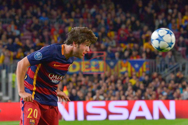 SERGIO ROBERTO - Champions League 2015/16 Matchdy 4 - FC Barcelona vs Bate Borisov (3-0)