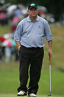 Ian Woosnam waits to take his putt on the 9th green during the first round of the Smurfit Kappa European Open at The K Club, Strffan,Co.Kildare, Ireland 5th July 2007 (Photo by Eoin Clarke/NEWSFILE)