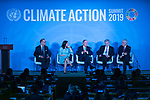 Climate Action Summit 2019: Programme<br /> <br /> Opening Ceremony:<br /> <br /> • Remarks by the Secretary-General<br /> • Youth dialogue with Secretary-General