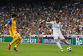 13th September 2017, Santiago Bernabeu, Madrid, Spain; UCL Champions League football, Real Madrid versus Apoel; Gareth Bale (11) Real Madrid