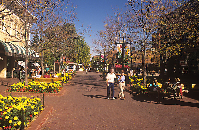 Pearl Street Mall, Boulder, Colorado