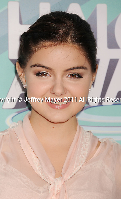 HOLLYWOOD, CA - OCTOBER 26: Ariel Winter arrives at the 3rd Annual TeenNick HALO Awards at Hollywood Palladium on October 26, 2011 in Hollywood, California.