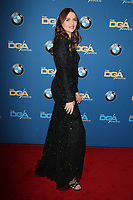 BEVERLY HILLS, CA - FEBRUARY 3: Saffron Burrows at the 70th Annual Directors Guild of America Awards (DGA, DGAs), at The Beverly Hilton Hotel in Beverly Hills, California on February 3, 2018.  <br /> CAP/MPI/FS<br /> &copy;FS/Capital Pictures