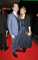 Jimmy Carr and Karoline Copping at the BAFTAs fundraising gala dinner & auction, The savoy Hotel, The Strand, London, England, UK, on Friday 08th February 2019.<br /> CAP/CAN<br /> ©CAN/Capital Pictures