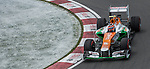 Sahara Force India F1 team driver Nico Hulkenberg of Germany speeds his VJM05 car during the F1 Grand Prix du Canada at the Circuit Gilles-Villeneuve on June 08, 2012 in Montreal, Canada. Photo by Victor Fraile / The Power of Sport Images
