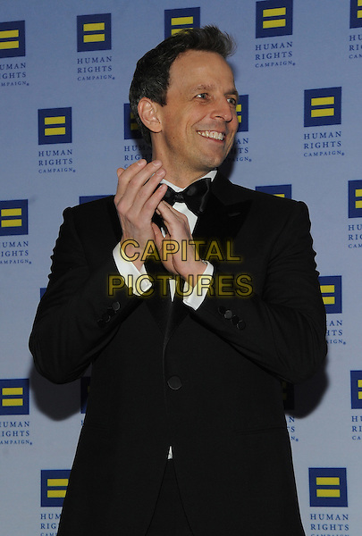 NEW YORK, NY - FEBRUARY 11:  Seth Myers attends the 2017 Human Rights Campaign Greater New York Gala on February 11, 2017 at the Waldorf Astoria in New York City.    <br /> CAP/MPI/JP<br /> &copy;JP/MPI/Capital Pictures