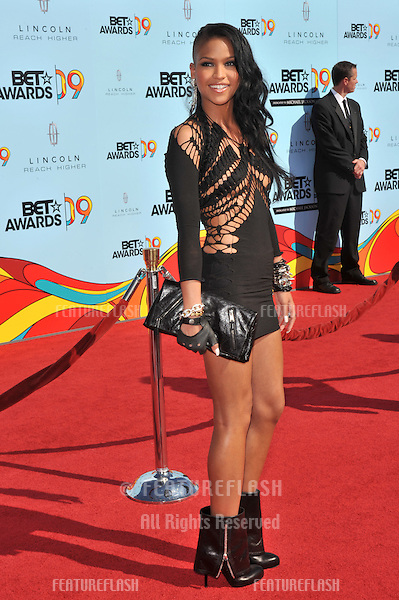 Cassie at the 2009 BET Awards (Black Entertainment Television) at the Shrine Auditorium..June 28, 2009  Los Angeles, CA.Picture: Paul Smith / Featureflash