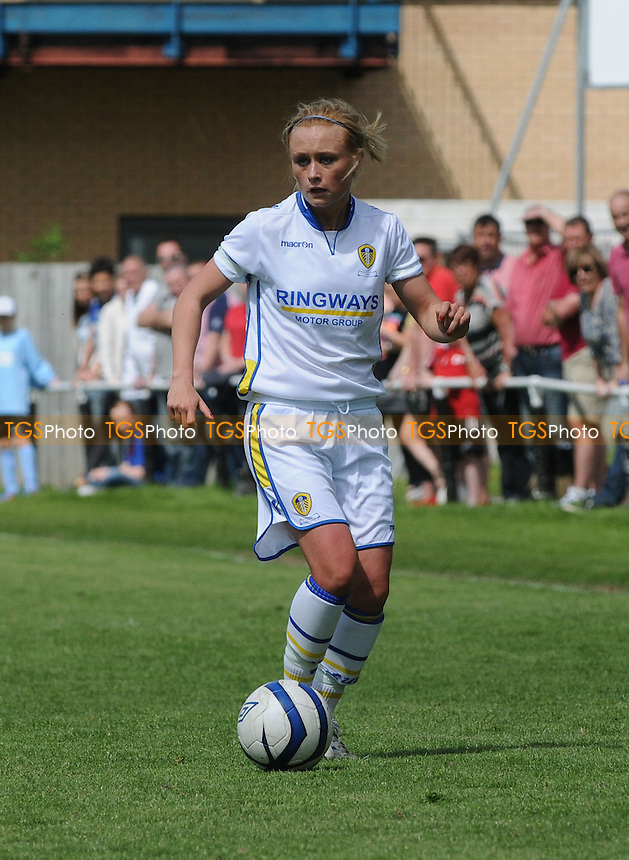 Leeds United's Stacey Emmonds - Sunderland Women vs Leeds United Ladies - FA Womens Premier League Football at the Hetton Centre - 26/05/13 - MANDATORY CREDIT: Steven White/TGSPHOTO - Self billing applies where appropriate - 0845 094 6026 - contact@tgsphoto.co.uk - NO UNPAID USE.