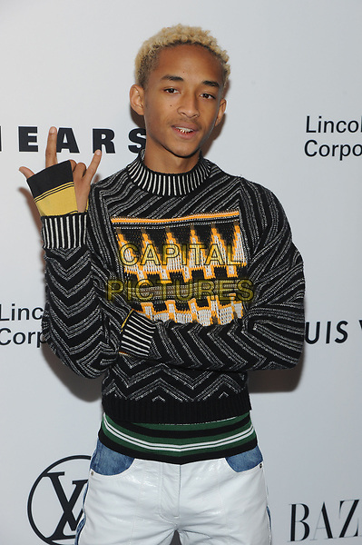 NEW YORK, NY - NOVEMBER 30: Jaden Smith at the Lincoln Center Corporate Fund Gala at Alice Tully Hall in New York City on November 30, 2017.  <br /> CAP/MPI/JP<br /> &copy;JP/MPI/Capital Pictures