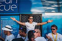 Picture by Russell Ellis/russellis.co.uk/SWpix.com - image archived on 25/04/2019 Cycling Tour de France 2018 - Team Sky at the Tour de France - STAGE 21: HOUILLES - PARIS Champs-Elysées 29/07/2018<br /> - Michal Kwaitkowski