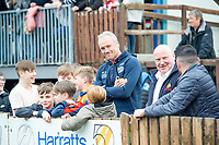 Picture by Allan McKenzie/SWpix.com - 08/04/2018 - Rugby League - Betfred Super League - Wakefield Trinity v Leeds Rhinos - The Mobile Rocket Stadium, Wakefield, England - Brian McDermott in the crowd.