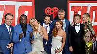 Ed Helms, Hannibal Buress, Annabelle Wallis, Jake Johnson, Isla Fisher, Steve Berg, Jeremy Renner &amp; Leslie Bibb at the world premiere for &quot;TAG&quot; at the Regency Village Theatre, Los Angeles, USA 07 June  2018<br /> Picture: Paul Smith/Featureflash/SilverHub 0208 004 5359 sales@silverhubmedia.com