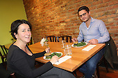 BGabs Goodies is now open at their new location located at 1450 E. 57th Street.<br /> <br /> Monika Piaczesi and Michael Weber enjoy a meal.
