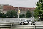 DTM Norisring, 5. Lauf 2008<br /> <br /> #11 Ralf Schumacher (Team: TRILUX AMG Mercedes) mit TRILUX AMG Mercedes C-Klasse (2007)vor dem Reichsparteitagsgel&auml;nde.<br /> <br /> Foto &copy; nph (nordphoto)