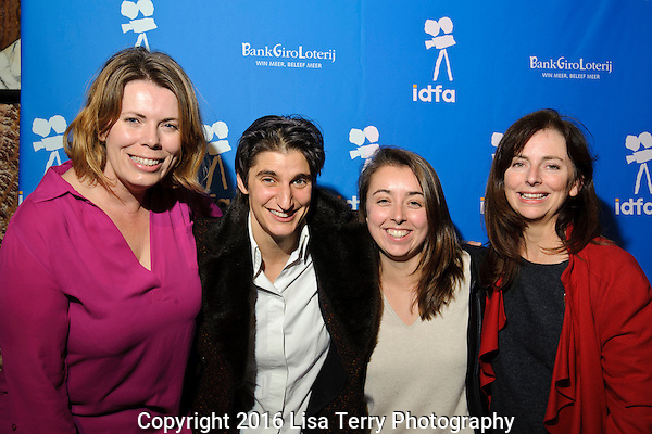 "Rebecca Barry, Jess Search, Hollie Fifer (filmmaker ""The Opposition""), Madeleine Hetherton"